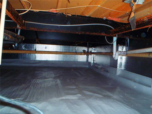 Crawlspace Encapsulation: The Importance Of Vapor Barrier!: In a previous article we explained why your crawlspace could be contaminating your indoor air. The first purpose of this article is to answer the top 5 questions asked about crawlspaces. The second and main purpose is to list and explain the top 5 reasons why your crawlspace needs a vapor barrier. Learn more!